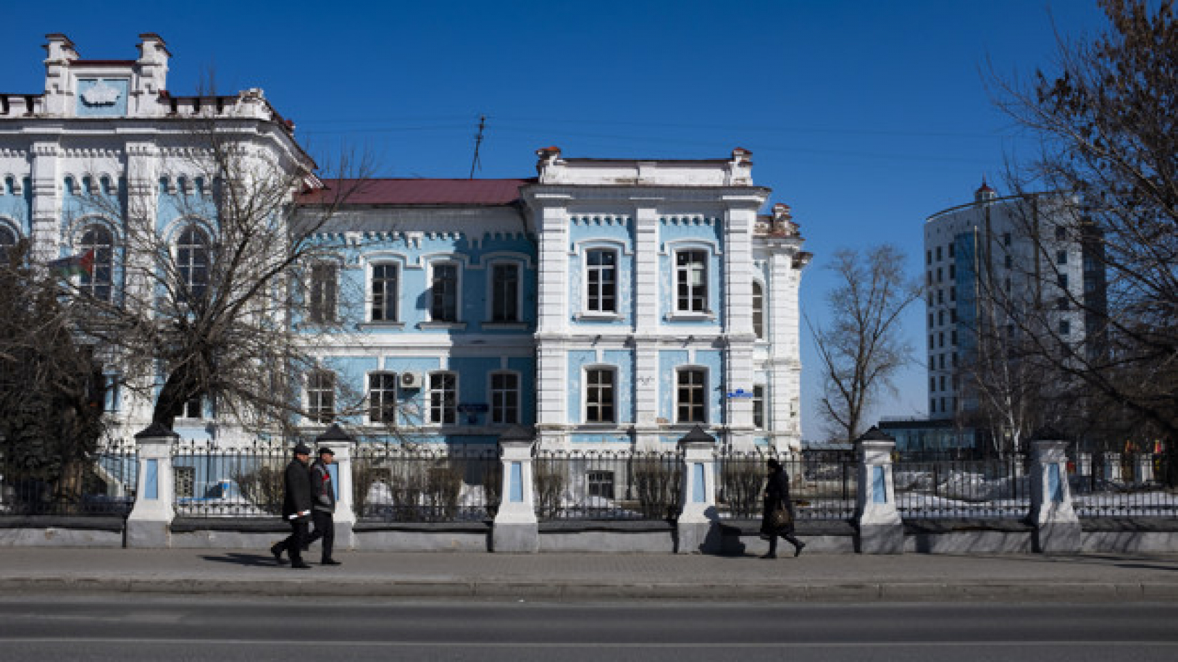 Tyumen, Russia, March 24 2017. State agrarian University of Northern TRANS-Urals, former Tyumen agricultural Academy. The concept of education, culture, history.